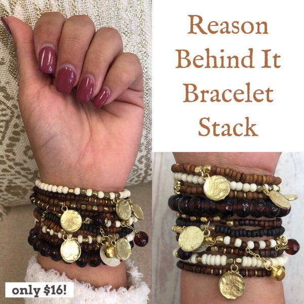 Reason Behind It Bracelet Stack