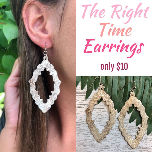 The Right Time Earrings