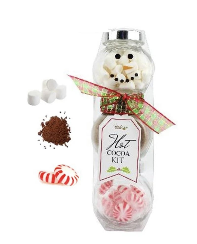 Cocoa Snowman Set