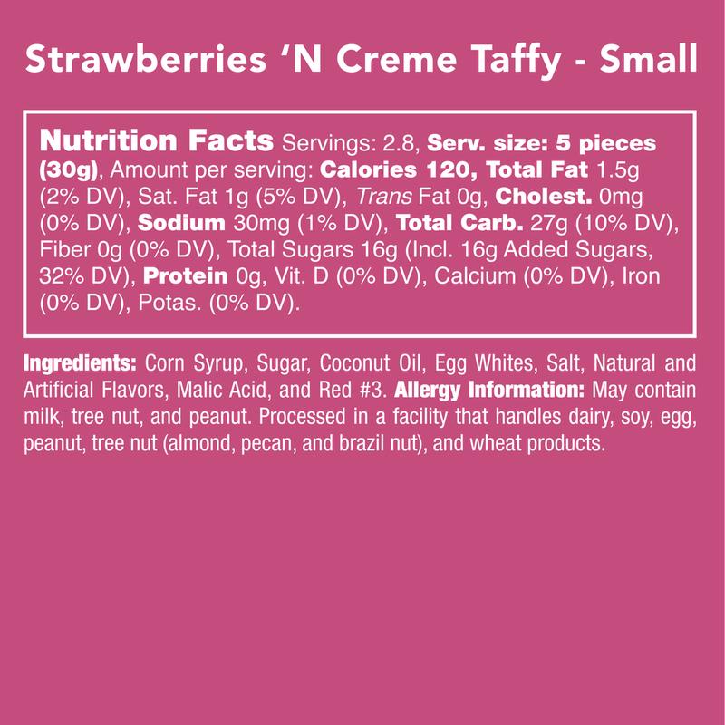 Strawberries N' Cream Taffy