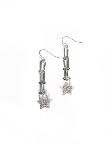 The Lollie Earrings Silver