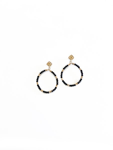 The Carlee Earrings Black
