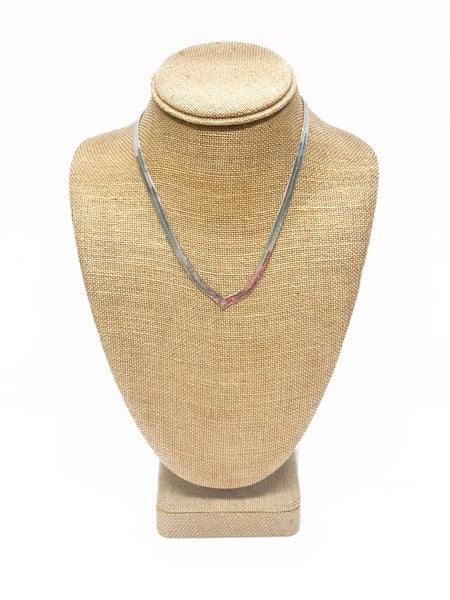 The Jonnie Necklace Silver