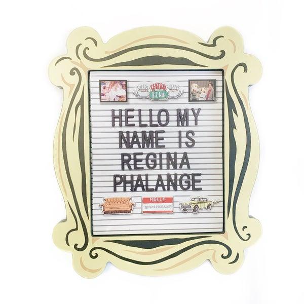 Friends Letter Board Frame