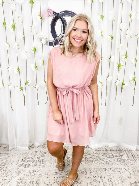 Sweet As Can Be Dress Mauve