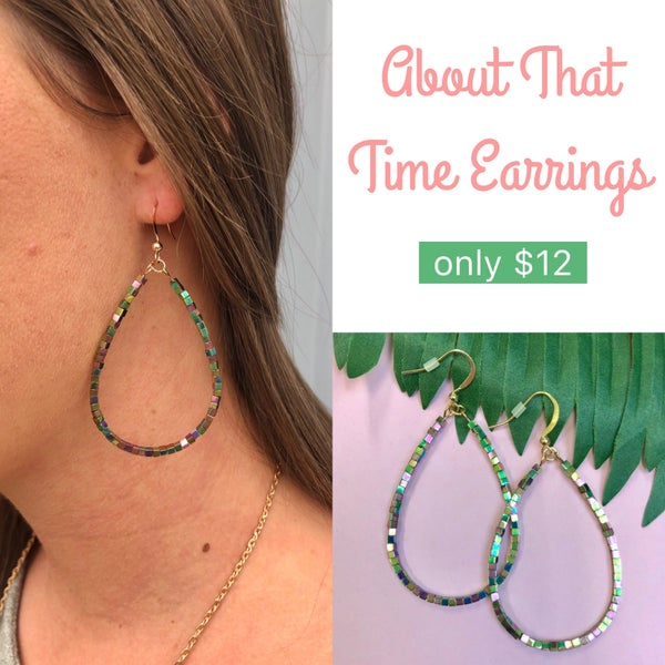 About That Time Earrings