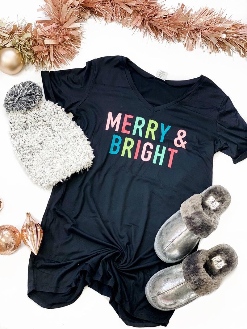 Merry & Bright Sleep Tee