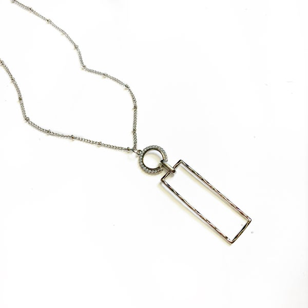 The Jude Necklace Silver