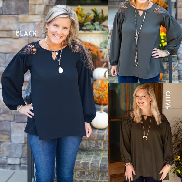 Night On The Town Top *Final Sale*