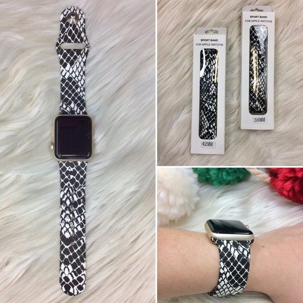 Snakeskin Watch Band