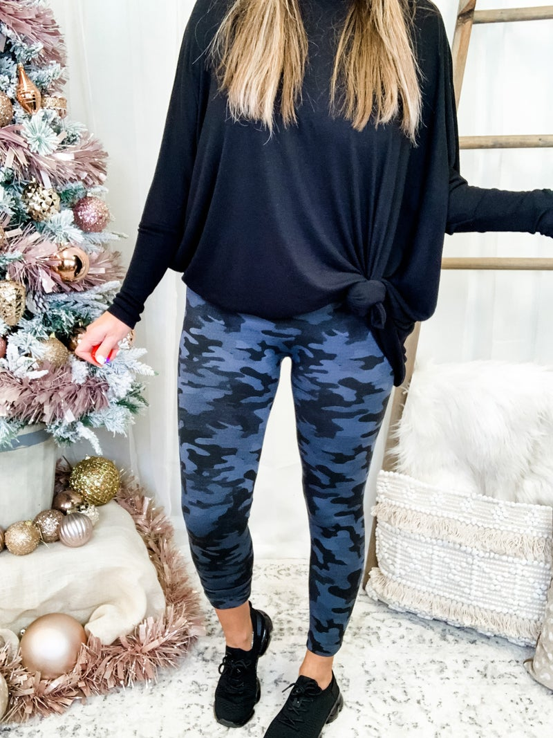 Printed Fleece Tights - Black Friday 2020 *Final Sale*