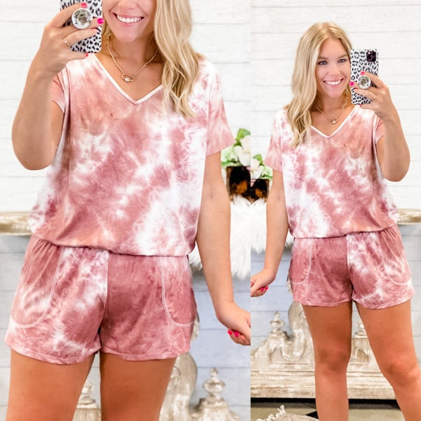 Just Like You Romper *Final Sale*