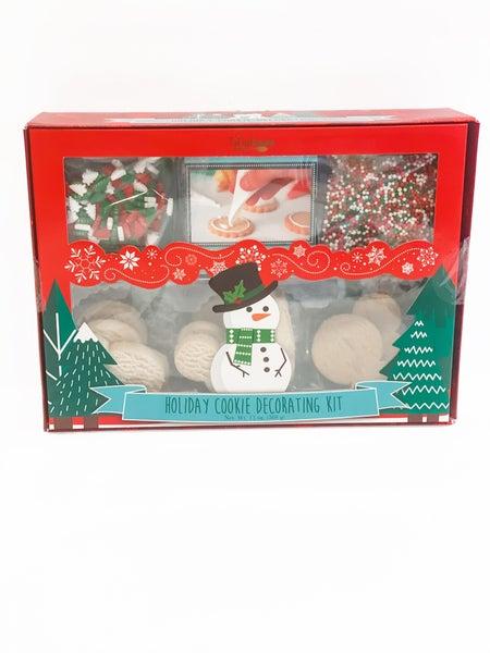 Snowman Cookie Decorating Set