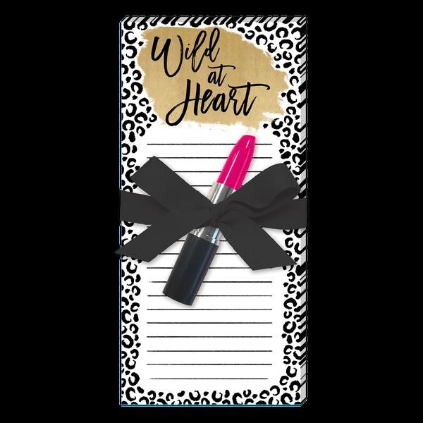 Wild At Heart List Pad