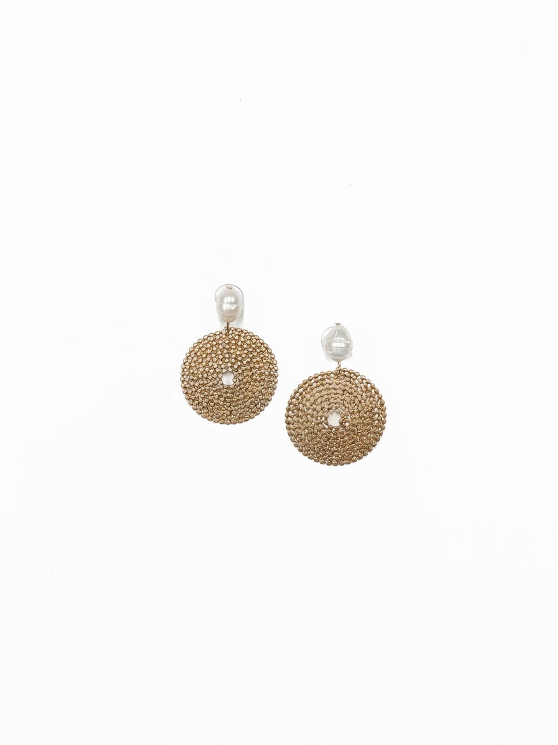 The Mandy Earrings Gold