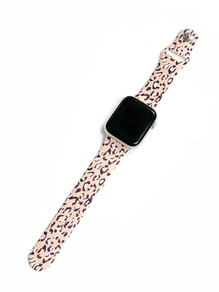 Blush Leopard Watch Band