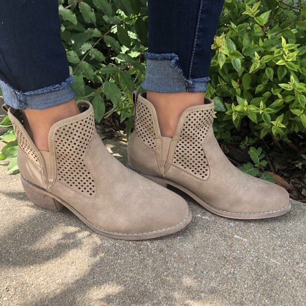 Take The Town Booties