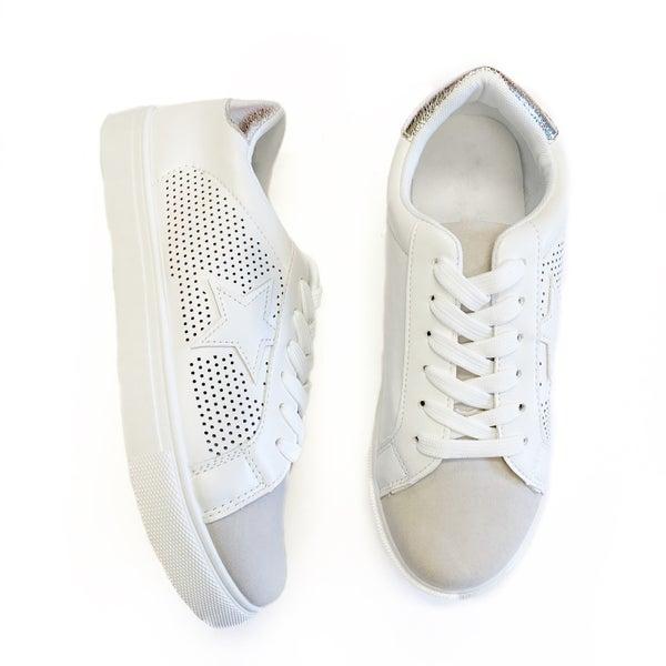 The Starla Sneakers Silver