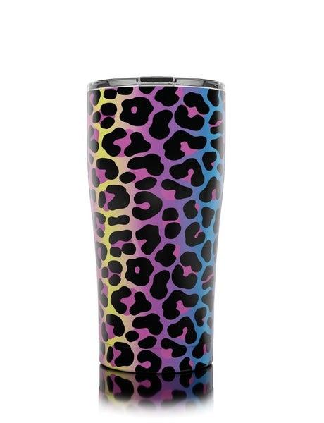 Neon Leopard 20oz Tumbler