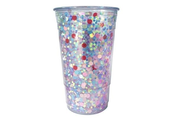 Electric Dream Confetti Cup