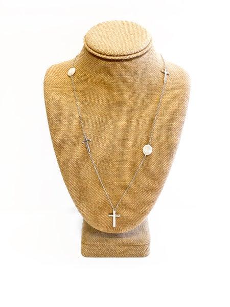 The Vera Necklace Silver