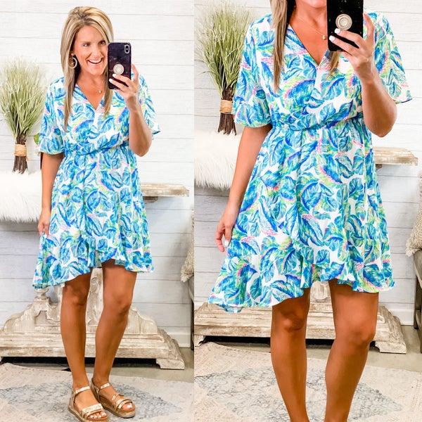 On Island Time Dress *Final Sale*
