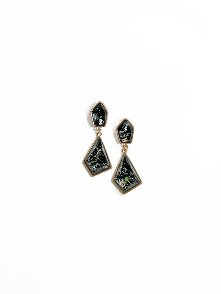 The Mallory Earrings Black