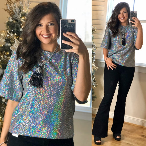 Days Of Sparkle Top *Final Sale*