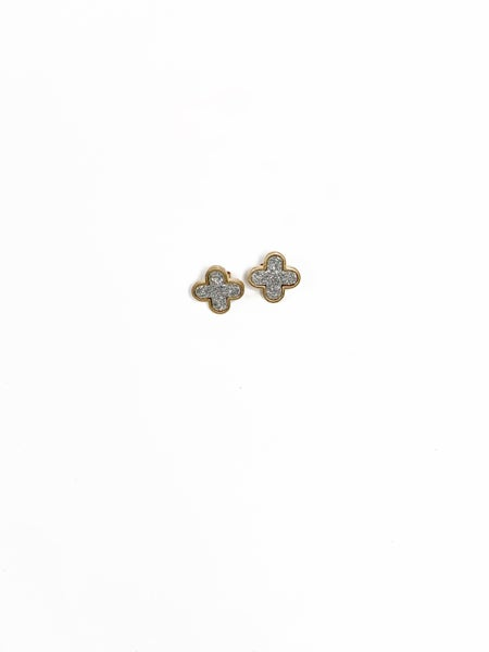 The Elory Studs Silver