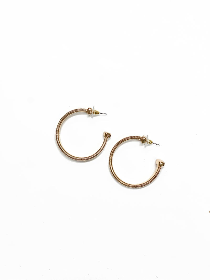 The Lallie Earrings Gold