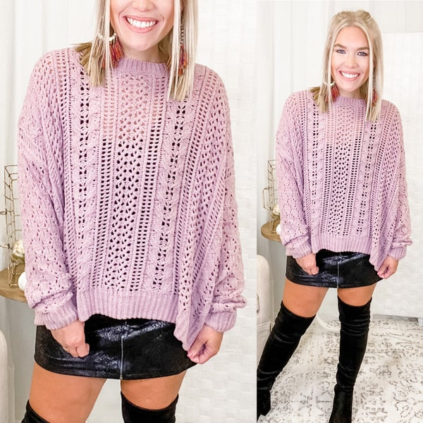 Always On Edge Sweater