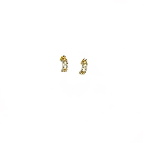 The August Earrings Gold