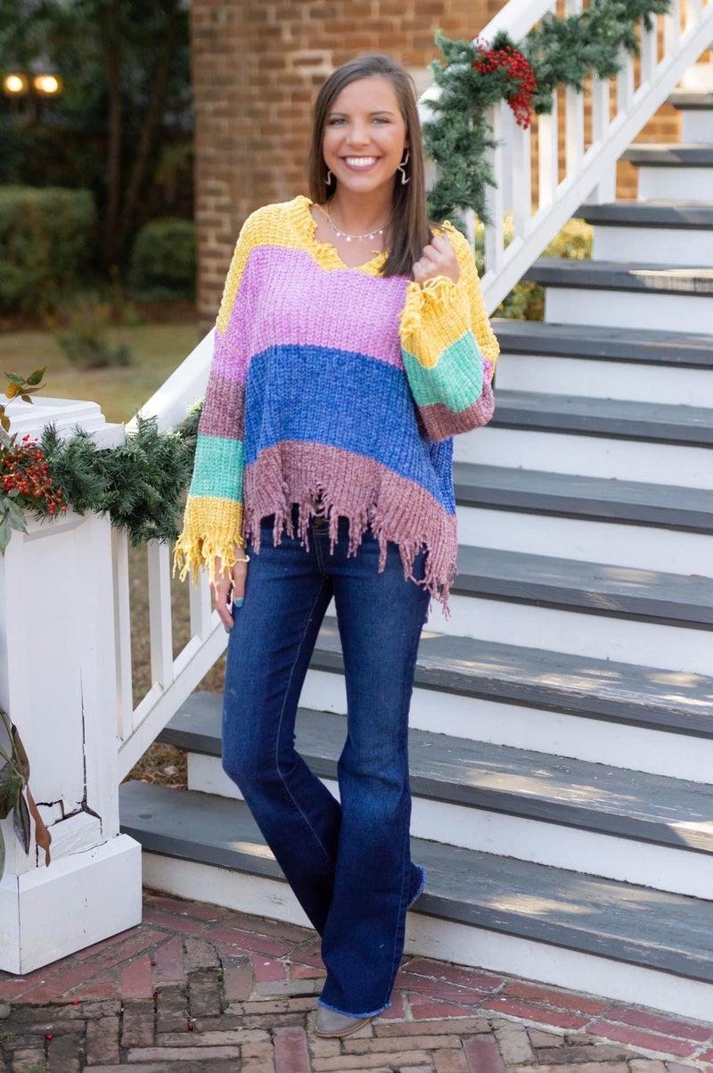 Colorful Dreams Sweater *Final Sale*