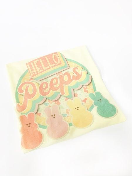 Hello Peeps Tee *Final Sale*