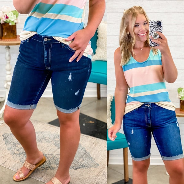 The Lucy Bermuda Shorts *Final Sale*