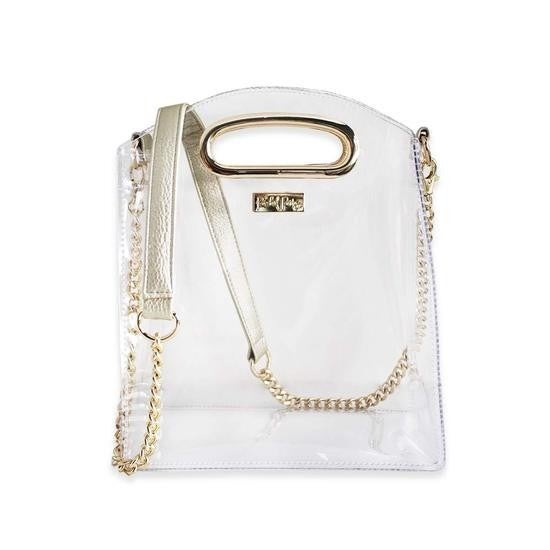 Let's Go Girls Clear Purse