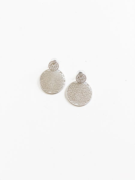 The Kristen Earrings Silver
