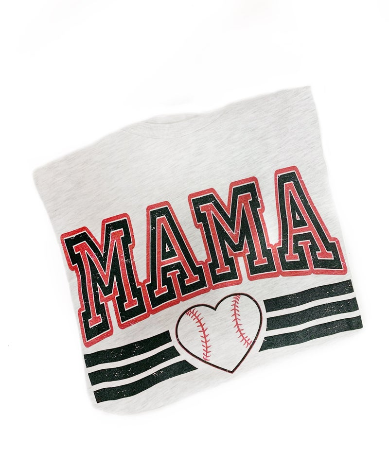 Mama Baseball Tee