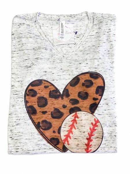 Heart Baseball Tee