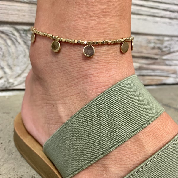 Just A Little Crush Anklet