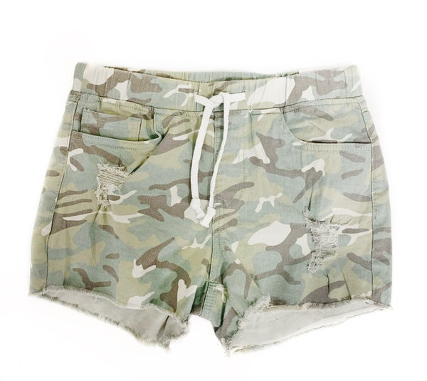 Move On Over Shorts Camo