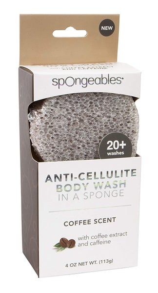 Anti-Cellulite Body Sponge Coffee