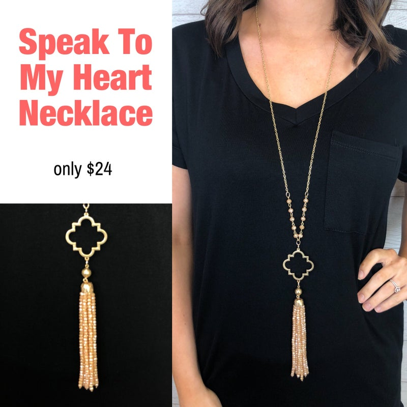 Speak To My Heart Necklace