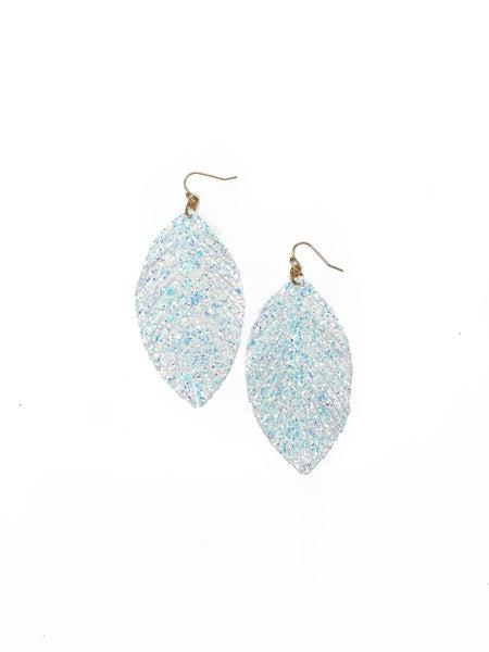 The Rosie Earrings White