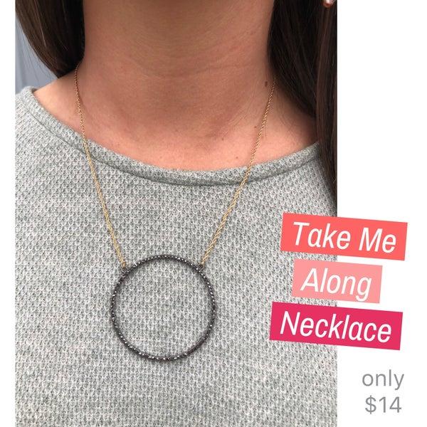Take Me Along Necklace