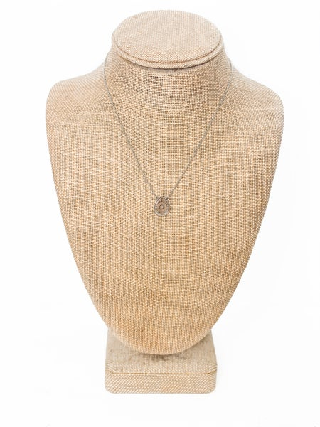 The Lucy Dainty Necklace Silver