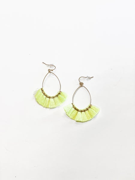 The Sophie Earrings Yellow