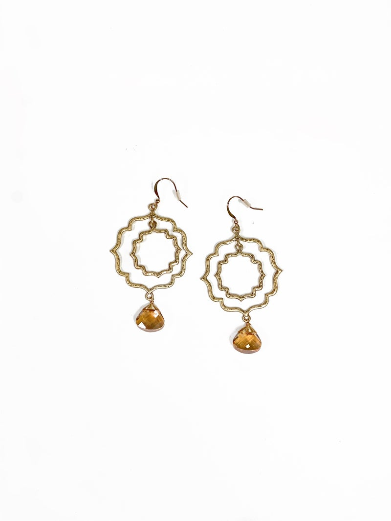 The Palmer Earrings Champagne
