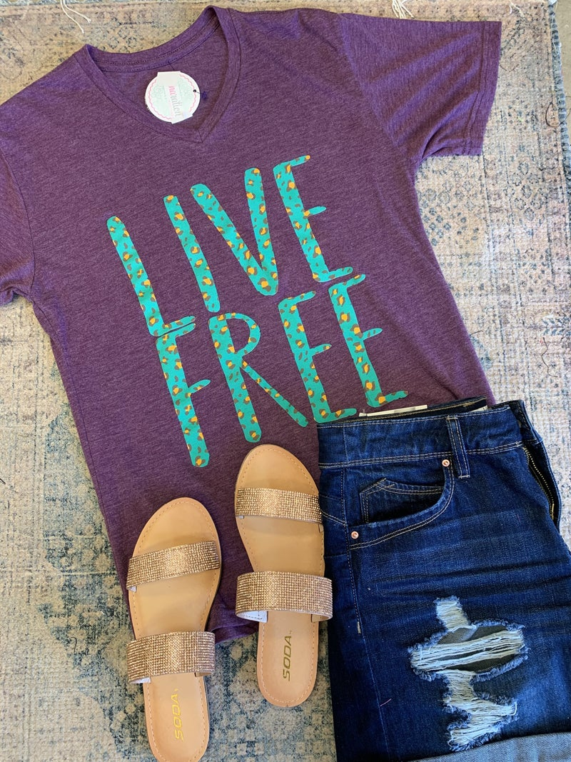 Live Free Graphic Tee