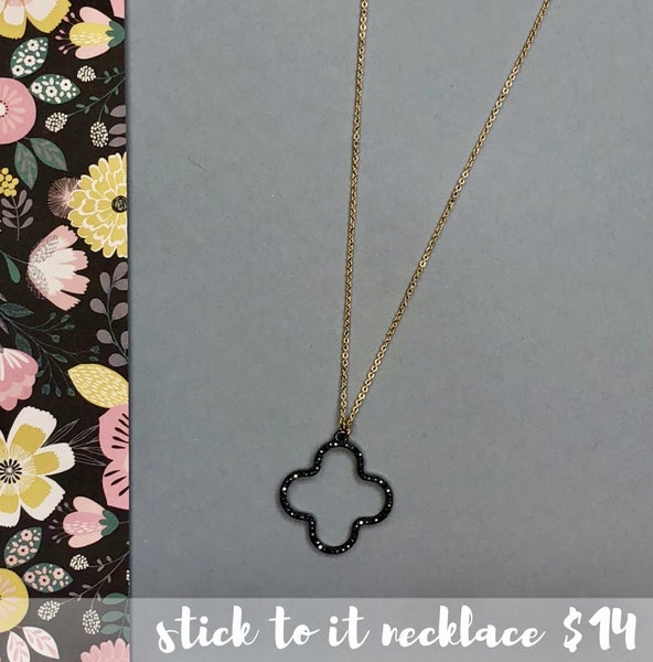 Stick To It Necklace
